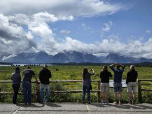 Grand Teton Joins Yellowstone in Breaking Tourism Records