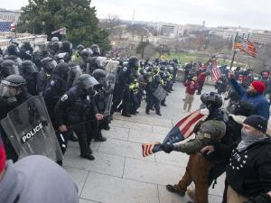 Amid the Capitol Riot, Facebook Faced its Own Insurrection